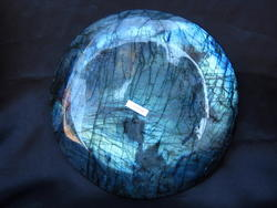 Labradorite Plate Simple Base - 8 inch - 5pcs