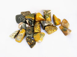 Sea Jasper Tumbled Stones Large (30-45mm) - 1LB