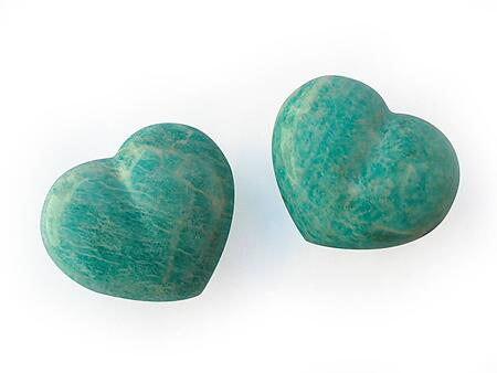 Amazonite Decorative Heart