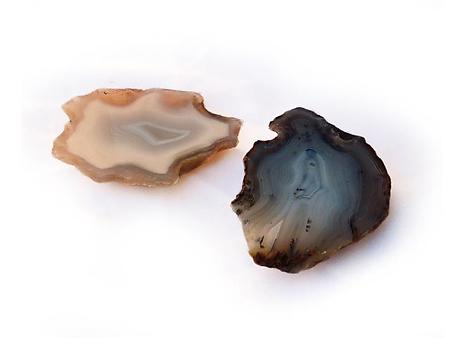 Agate Polished One Face (POF)