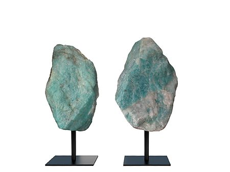 Amazonite Rough on Base - Small