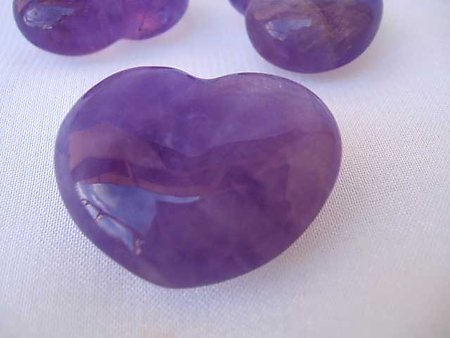 Amethyst Small Heart (20g)