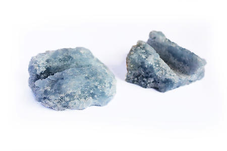 Blue Calcite Business Card Holder