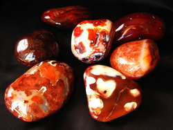 Carnelian Gallet Large 1PC