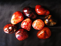 Carnelian Gallets - Medium - 1 PC