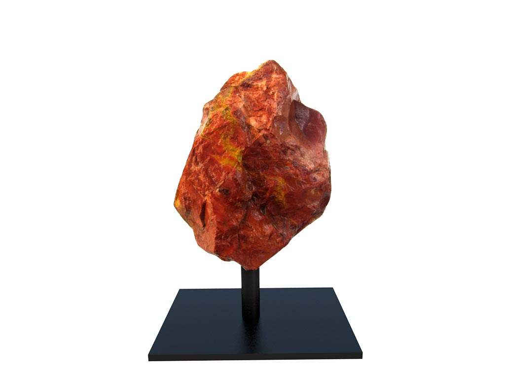 Red Jasper Rough on Base - Small