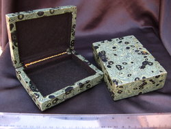 Crocodile Jasper Large Jewellery Box 5pcs
