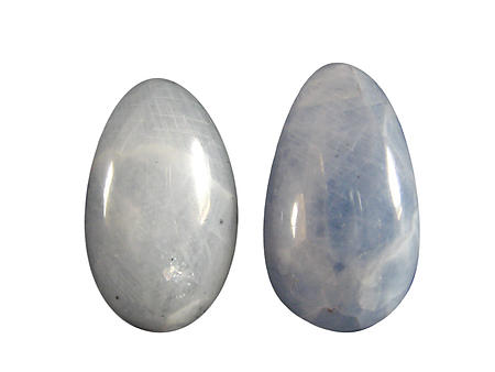 Blue Calcite Eggs - 45mm
