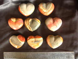 Desert Jasper Large Decorative Heart