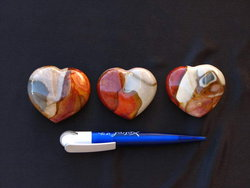 Desert Jasper Decorative Heart