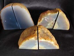 Agate Bookends 1-3kg - 10 pairs