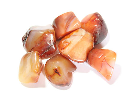 Carnelian Tumbled Stones - Medium (20-30mm) - 1LB