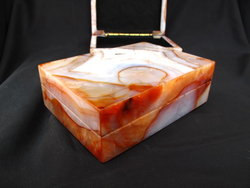 Carnelian Jewellery Boxes - 5pcs