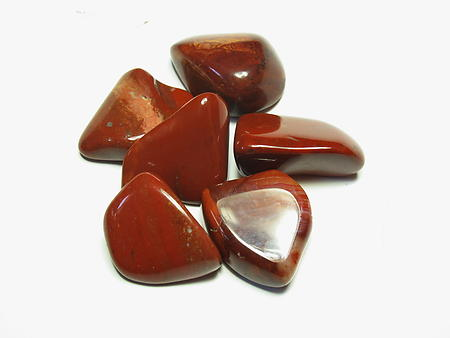 Red Jasper Tumbled Stones - Large (30-45mm)