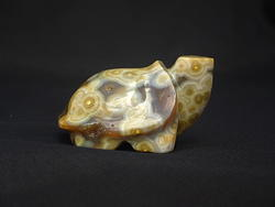 Sea Jasper Small Turtle