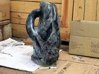 Labradorite Abstract Sculpture,