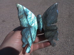 Labradorite Butterfly - Small