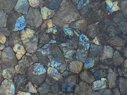 Labradorite Electric Midnight Table Top (140 x 83 x 3 cm)