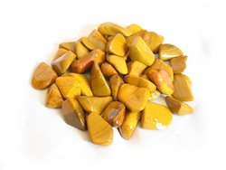 Yellow Jasper Tumbled Stones - Medium (20-30mm) - 1LB Bag