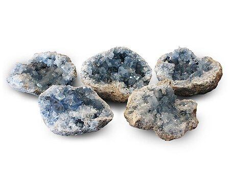 Wholesale - Celestite Druze (1-3kg) - AAA Quality