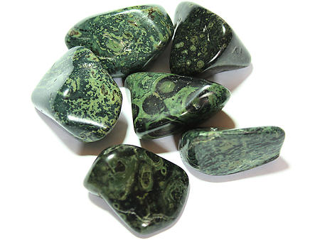 Crocodile Jasper Tumbled Stones - Large (30-45mm) - 1LB
