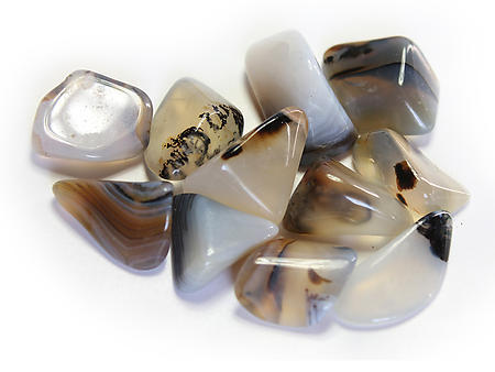 20-30 mm Dendritic Agate Tumbled Stones