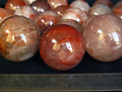 Fire Quartz Sphere (60mm)