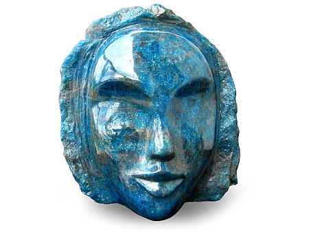 Apatite Face Carvings