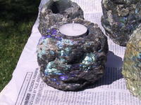 Labradorite Candle Holder 10pcs