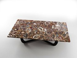 Petrified Wood Table Top (140 x 83 x 3 cm)
