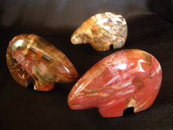 Petrified Wood Bear