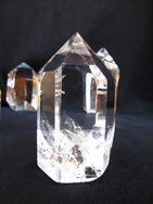 Crystal Quartz Prism (50-250g) - Polished - 10LB
