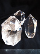 Crystal Quartz Prism (250-500g) - Polished - 20LB
