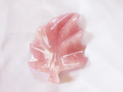Rose Quartz Leaves-Medium 3pcs