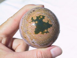 50 mm Sea Jasper Sphere