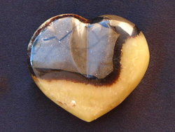 Septarian Decorative Heart