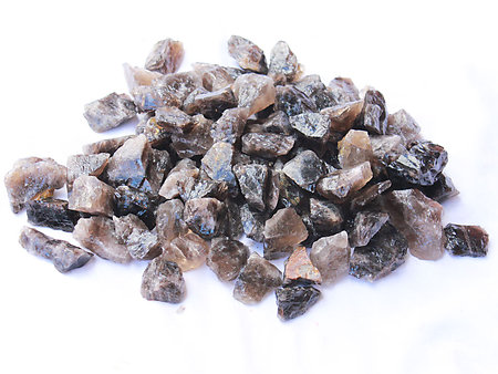 Smoky Quartz Rough - Gem Decor Rough (5-30g) 5Kg Bag (11LBS and UP)