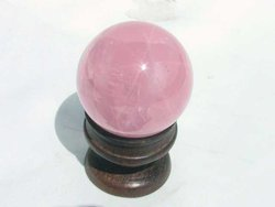 Star Rose Quartz Sphere (50mm)