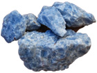 Blue Calcite Rough 5 lb Lot