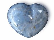 Blue Quartz Decorative Hearts